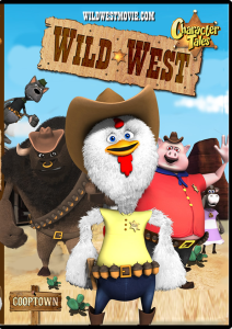wild west on dvd cover